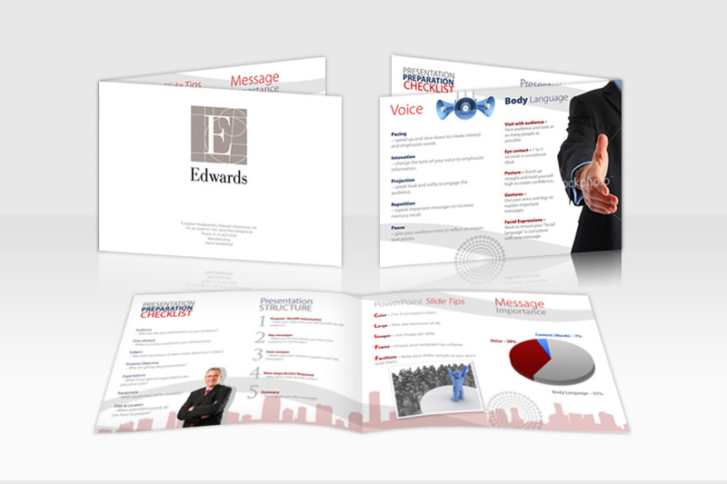 business marketing material